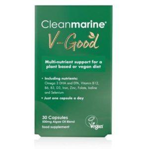 Buy Cleanmarine v-good vegan multi & DHA Dublin