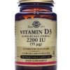 Buy Solgar vitamin d3 2200iu