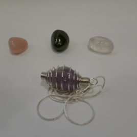 Gemstone pendant kit