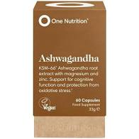 One Nutrition Ashwagandha contains a unique blend of organic & vegan ashwagandha root, along with magnesium and zinc. This product is specially formulated to naturally help in situations of stress, cognitive health, nervous tension and sports endurance.