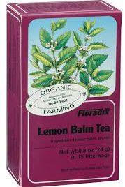 Buy floradix lemon balm teabags